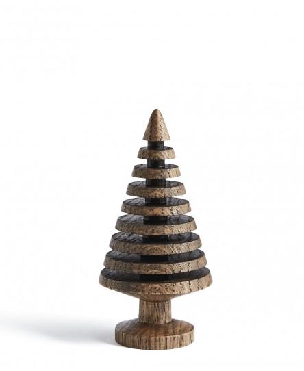 Holzbäumchen Eiche dunkel, verschied. Designs