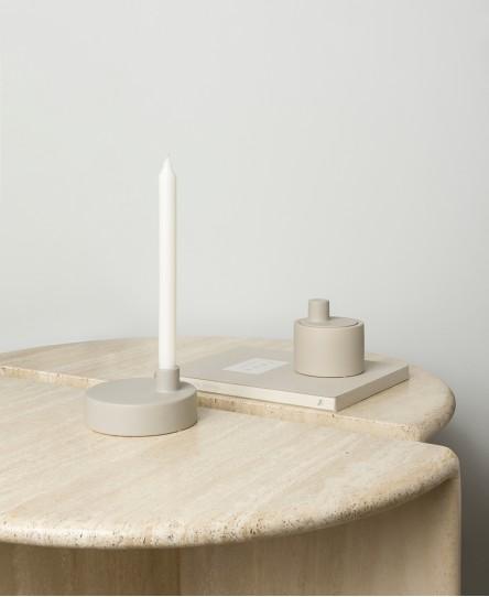 Kerzenhalter Knob, Sand