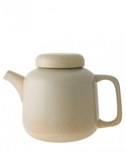 Teekanne, beige
