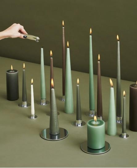Kerzenhalter, silber