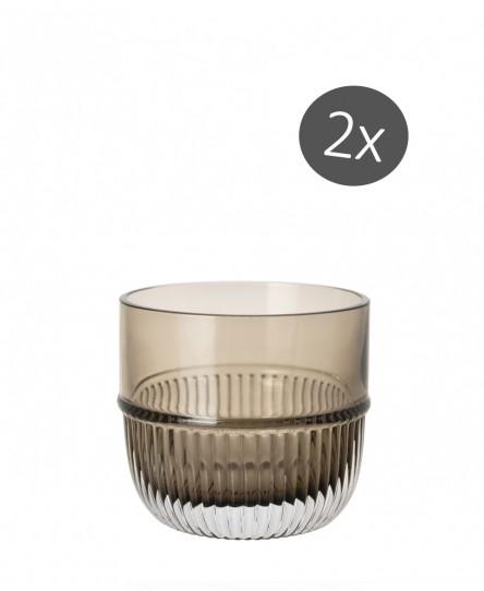 Barglas 'Smoke', 2er Set