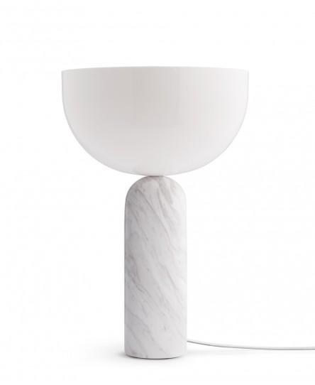 Tischleuchte 'Kizu', White Marble, 2 Größen