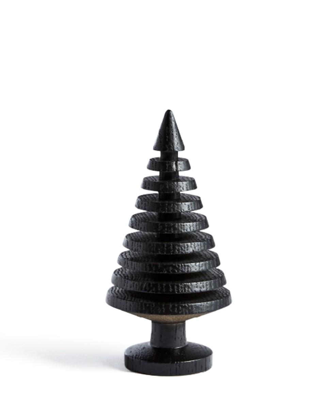 Holzbäumchen Eiche, schwarz, 3 Varianten